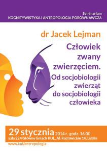 Człowiek zwany zwierzęciem Od socjobiologii zwierząt do socjobiologii człowieka