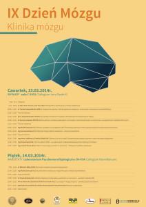 IX Dzień mózgu. Klinika mózgu