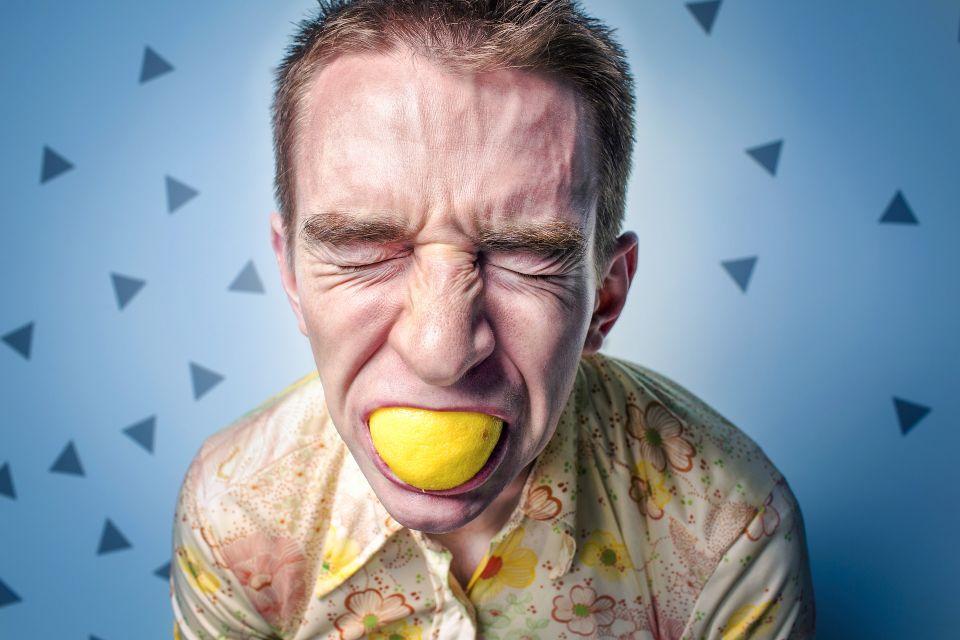 man-lemon
