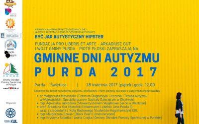 Gminne dni autyzmu. Purda 2017