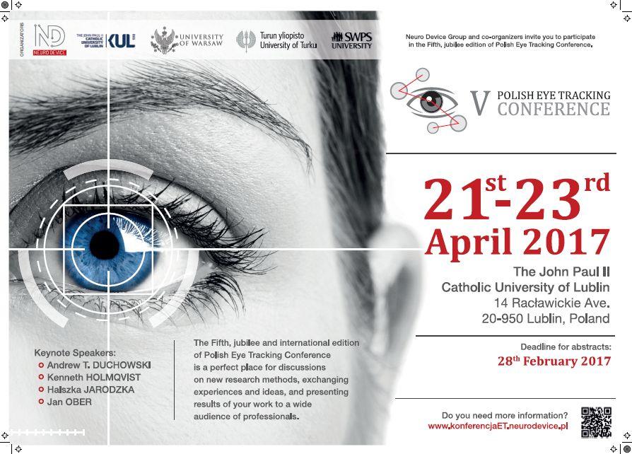 V Polska Konferencja Eyetrackingowa
