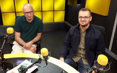 Gośćmi Czwórki byli prof. Robert Piłat i dr Paweł GładziejewskiFoto: Czwórka