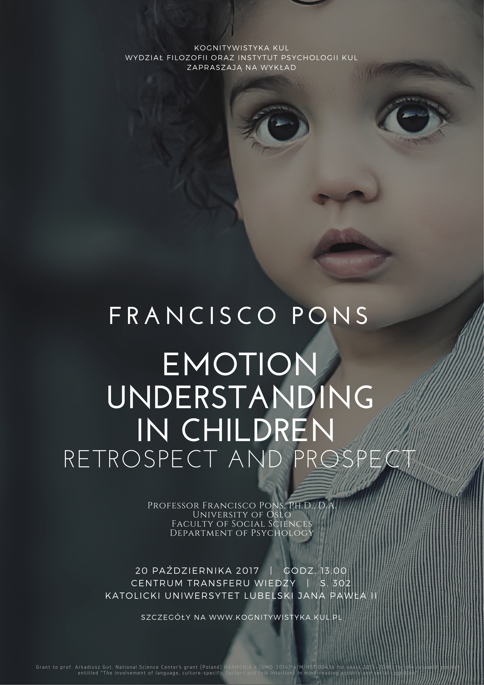 Francisco Pons - Emotion understanding in children. Retrospect and prospect
