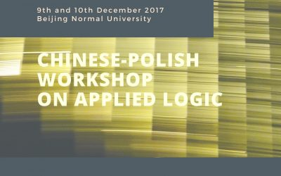 Chinese-Polish Workshop on Applied Logic