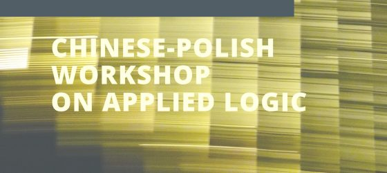 Chinese-Polish Workshop on Applied Logic
