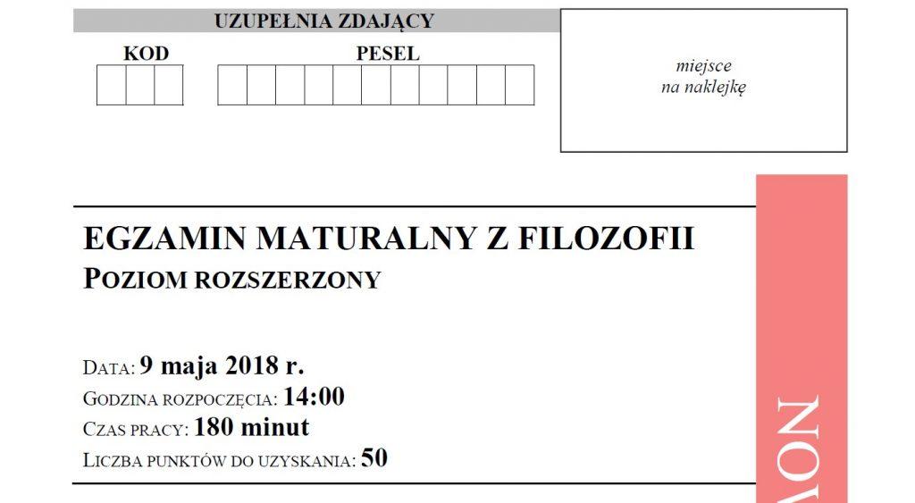Arkusz egzaminacyjny w pliku pdf