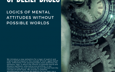 In Praise of Belief Bases: Logics of Mental Attitudes without Possible Worlds - Prof. Emiliano Lorini
