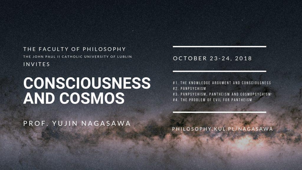 Consciousness and Cosmos - Yujin Nagasawa