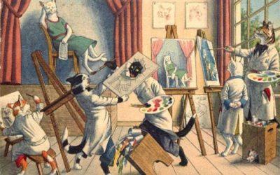 Louis Wain i psychodeliczne koty